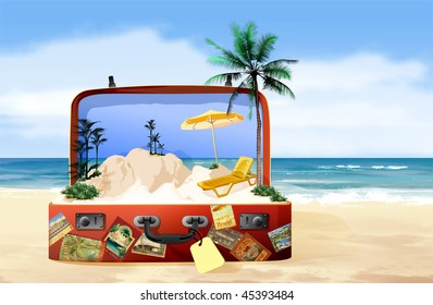 Exotic Island In the Suitcase