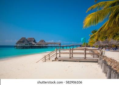 exotic and luxury beach in Zanzibar