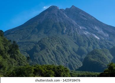 the exotic of Merapi Mountain, Yogyakarta, Indonesia