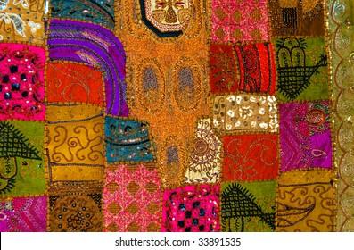 Exotic Patchwork Quilt