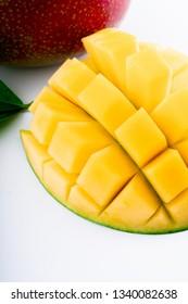 Exotic ripe mango