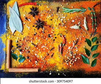 Exotically Spice Mix - spice, herbs, powder