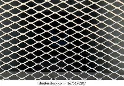 Expanded metal grating for construction industry.