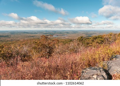 Expansive view of rural Worcester County from Wachusett Mountain State Reservation