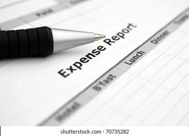 Expenses report