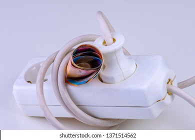 expensive electricity - multiple socket with banknotes