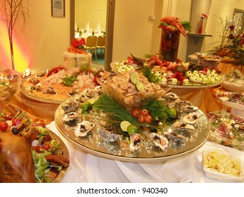 Expensive seafood selection - Shutterstock ID 940340