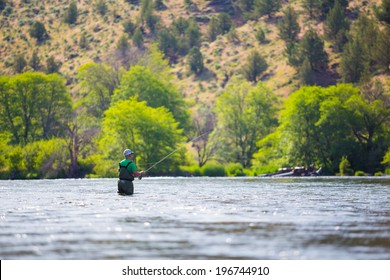 Fly Fishing Oregon Images, Stock Photos & Vectors | Shutterstock