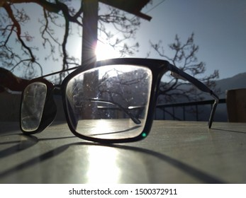 Experiencing the first sunrays from Wise Guy's Glasses
