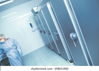 Expert activity in the morgue
