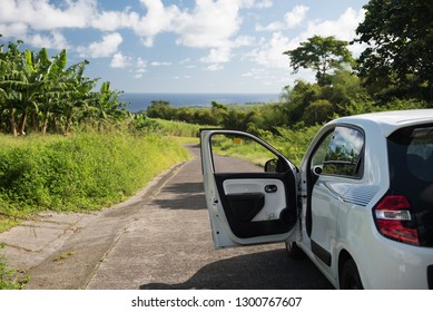Exploring A Beautiful Island (Martinique) with A Rental Car