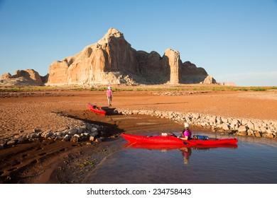 Exploring the Desert Landscape of Lake Powell