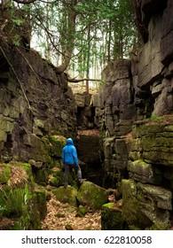 Exploring the landscape of niagara escarpment in southern Ontario, Canada