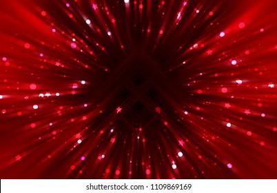 Explosion background scarlet illustration.