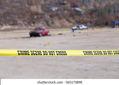 explosion  vehicle  crime scene