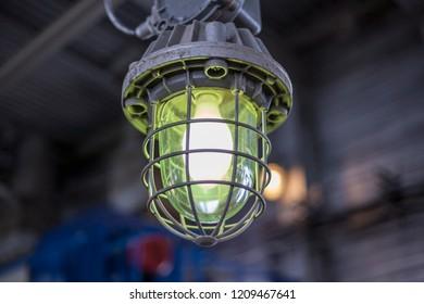Explosion-proof lamp, For lighting industrial enterprises