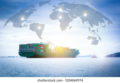 Export system and shipping industry