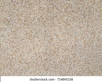 Exposed aggregate finish concrete wall