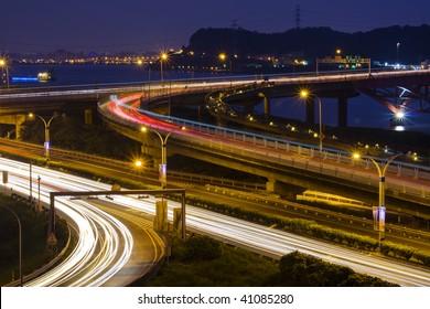 express highway interchange