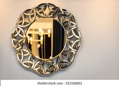 Exquisite mirror frames.