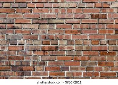 Exterior Brick Wall