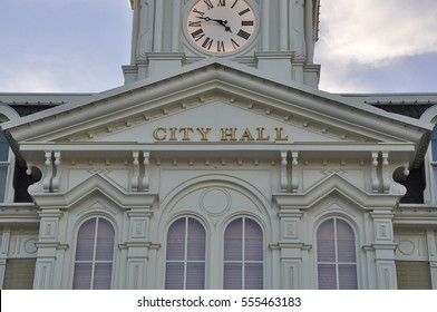 Exterior of city hall