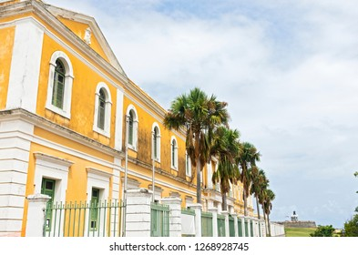 exterior of cultural institute building in old san juan puerto rico