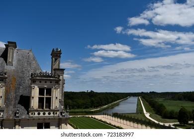 Exterior of Château de Chambord, Chambord, France