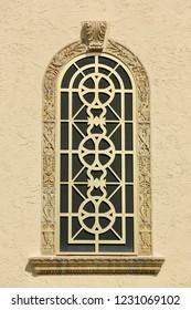 exterior designed window