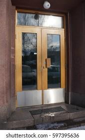 The Exterior Door / Doorway