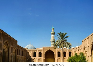 Exterior of famous Al-Mustansiriya University and Madrasah, Baghdad, Iraq