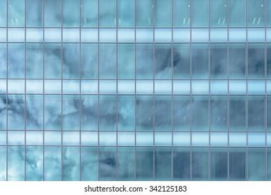 Exterior Glass Windows of a Modern Office Building