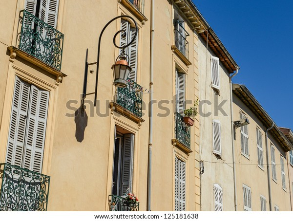 Exterior of Homes in France