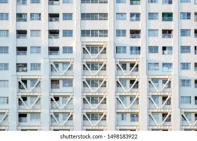 Exterior of Japanese Apartment Buildings
