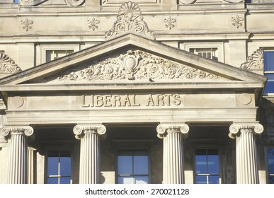 The exterior of the Liberal Arts wing of the University of IA, IA