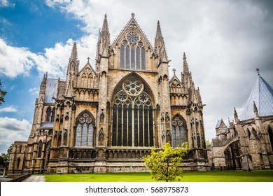 Exterior of Lincoln Cathedral