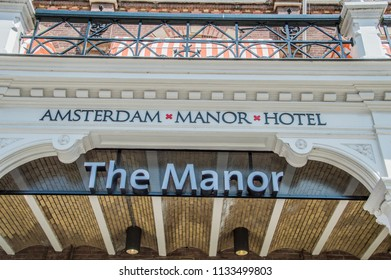 Exterior Of The Manor Hotel At Amsterdam East The Netherlands 2018