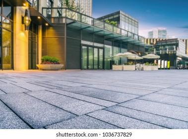 exterior of modern architecture,suzhou,china.