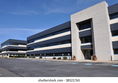 exterior of a modern office building