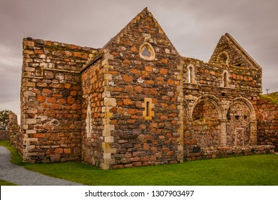 Exterior of the nunnery on the island of Iona