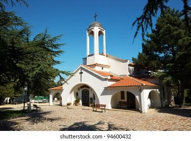 Exterior of the Orthodox church in Obzor, Bulgaria, Eastern Europe