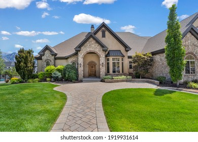 exterior real estate photography in utah  - Shutterstock ID 1919931614