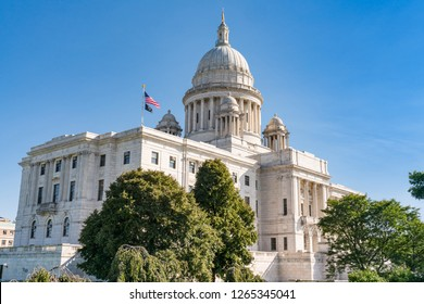 Exterior Rhode Island Capitol Building in Providence, RI