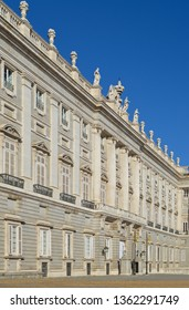 Exterior of the Royal Palace of Madrid