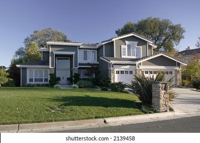 Exterior shot of a home in the Northern California East Bay Area of Martinez, CA.