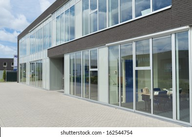 exterior office. Exterior Of A Small Modern Office Building E