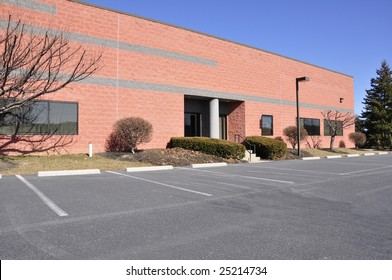 exterior of a small modern office building