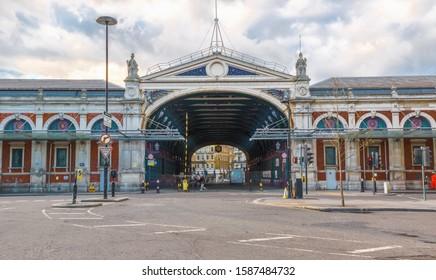 Exterior of Smithfield Market in London