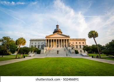 The exterior of the South Carolina State House in Columbia, South Carolina.