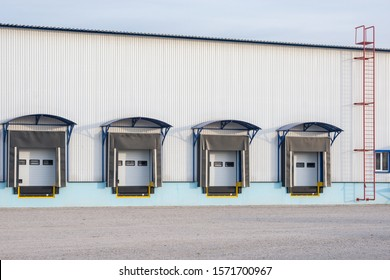 Exterior of the storage at morning time.
